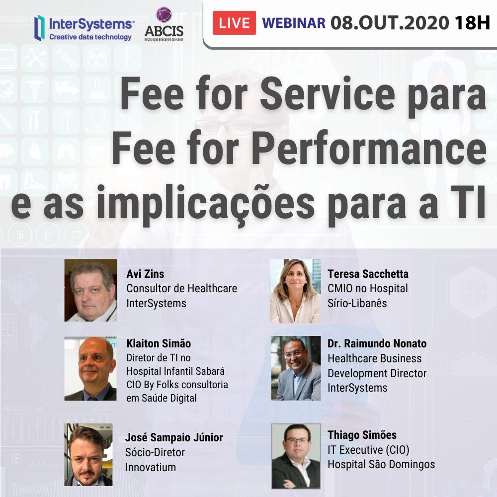 Fee for Service para Fee for Performance e as Implicações para a TI