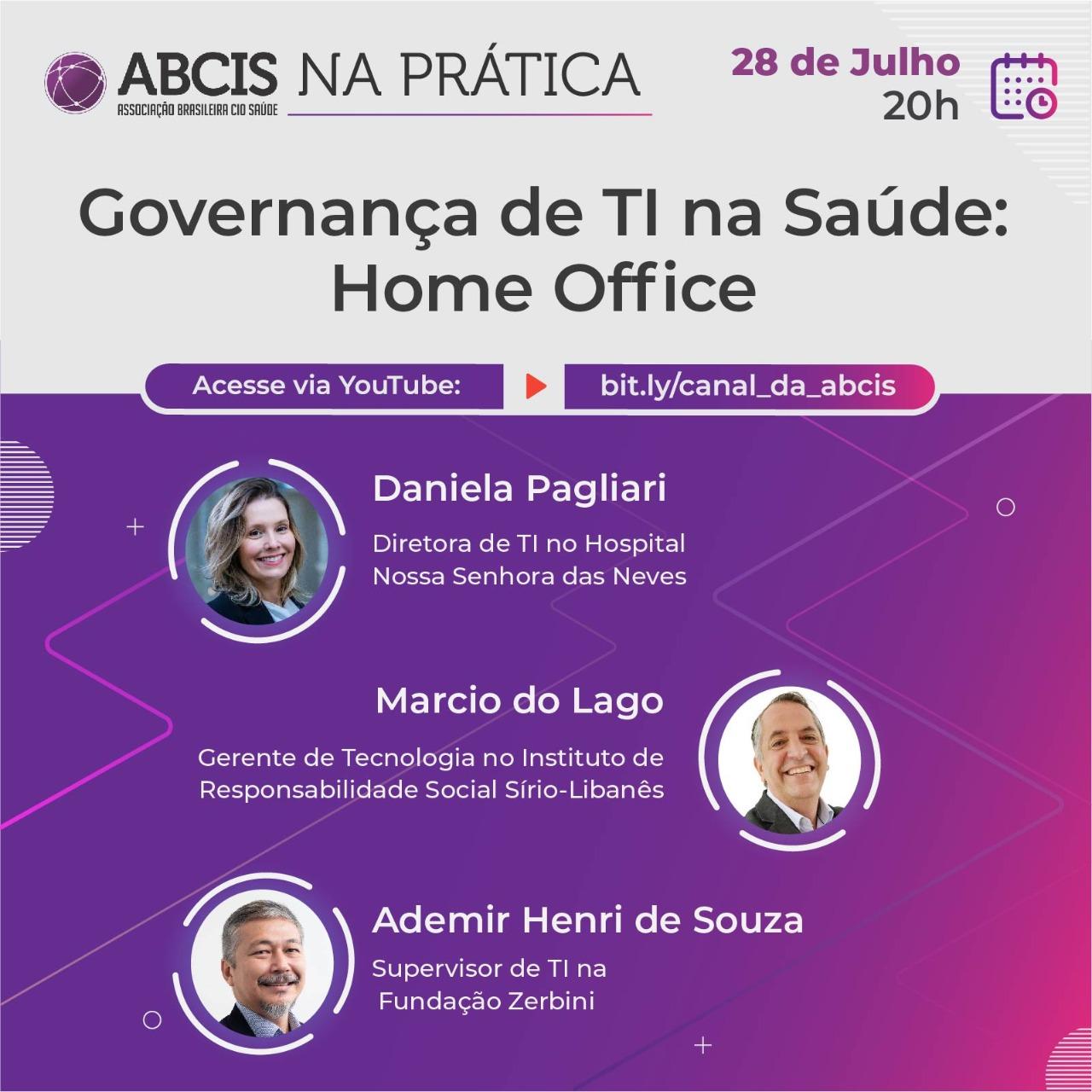 Governança de TI na Saúde: Home Office