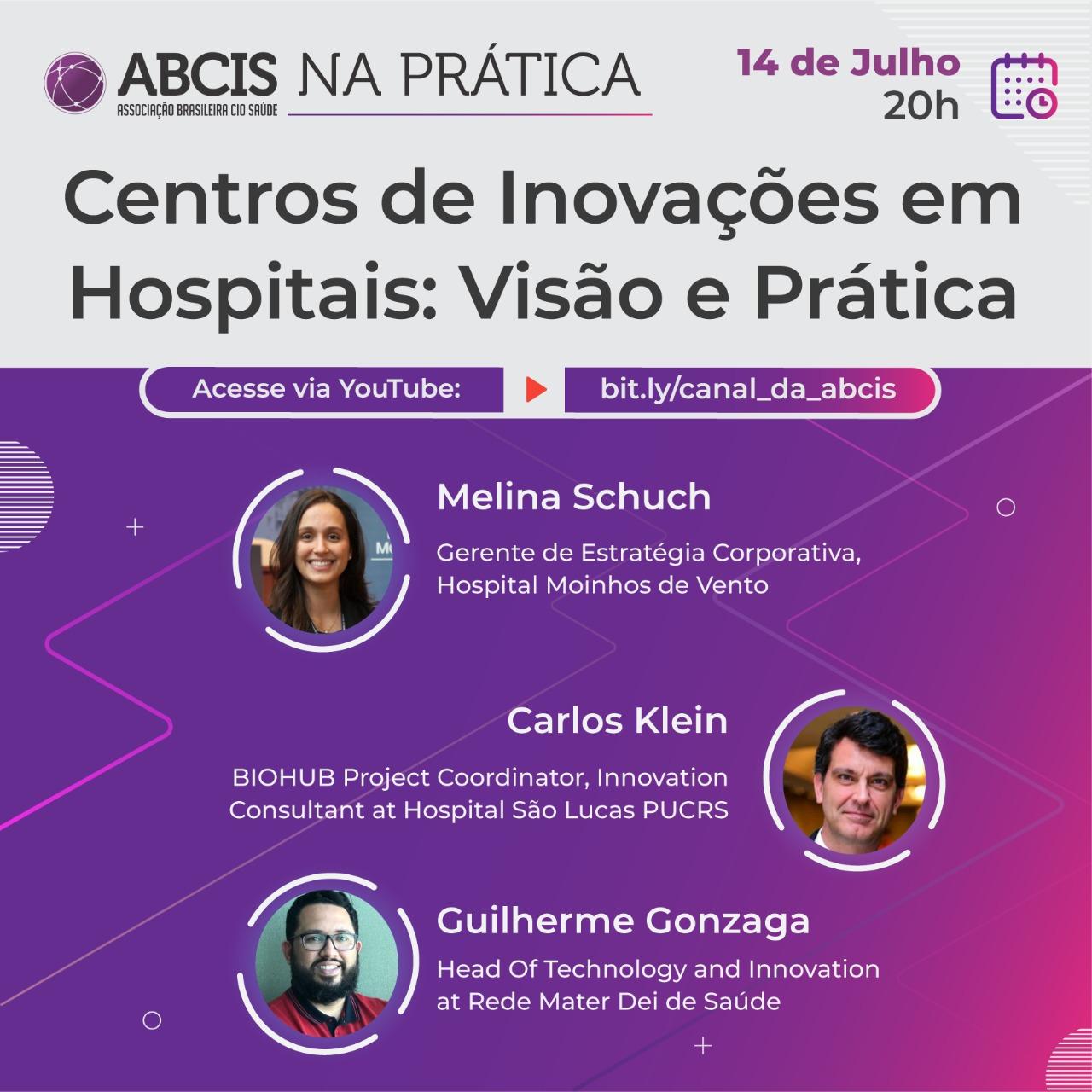 Centro de Inovações em Hospitais: Visão e Prática